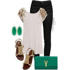 cloth, emerald, beauti, date nights, closet