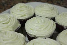 De Yogurt y Limon con crema de queso, receta de Objetivo Cupcake