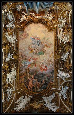 Santa Maria Della Vittoria, Rome.