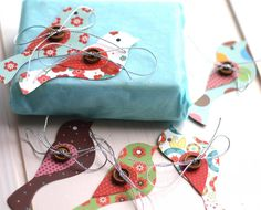 wee birdy gift tags by drift living | notonthehighstreet.com