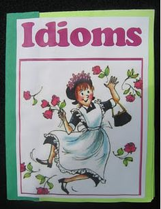 Teaching idioms with Amelia Bedelia and foldables