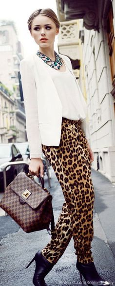 Leopard and Louis:  Kayture Fashion Blogger leopard pant, printed pants, blazer, anim print, fashion blogger, inspired outfits, lv bags, leopard prints