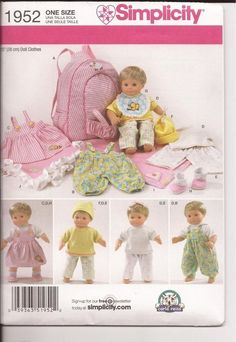 1952 - Doll Baby Clothes and Accessories