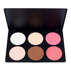 6 Contour Blush Palette