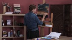 Landscape Painting in Pastel: Surface Color and Texture with Liz Haywood-Sullivan and http://artistsnetwork.tv.