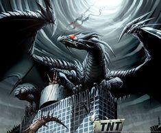 Black Dragon | 28 Most awesome Black dragon conceptual art in HD