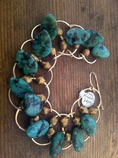 TS Design Tibetan Turquoise Bracelet by 3tomatoes on Etsy, $110.00