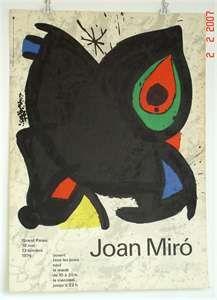 Joan Miró, 1974. - SOLD -