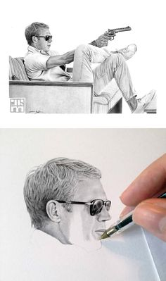 Realistic Ballpoint Pen Drawings by James Mylne | Inspiration Grid | Design Inspiration