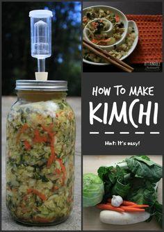 Making kimchi is inc