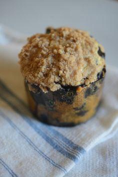 Blueberry Crumb Coffee Cake Muffins
