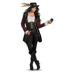 Pirates of the Caribbean - Angelica costume