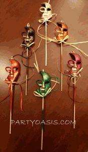 Mini Mask Favors