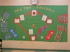Bulletin board home run