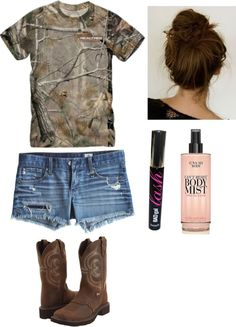 Love this camp summer outfit! #camo #countryfashion #countrygirl #country The Blue Pools, Queenstown, New Zealand