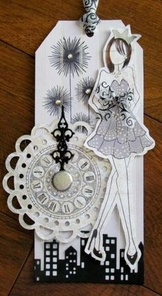 January Prima Doll by mjs1033 - Cards and Paper Crafts at Splitcoaststampers