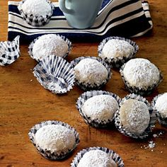 40  Mouthwatering Holiday Desserts | Coconut Snowballs | CoastalLiving.com