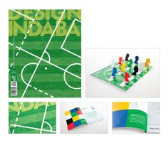 """Design Indaba """"World Cup"""" Magazine cover - Alex Hayn / The Jupiter Drawing Room Cape Town"""