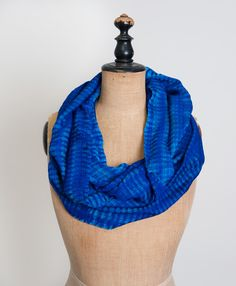 Ocean-hued thread is woven into a dreamy, wear-with-all infinity scarf. - See more at: http://christinakrivolavek.noondaycollection.com/scarves/azul-infinity-scarf#sthash.rcd8bKns.dpuf