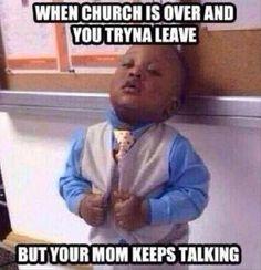 funni kid, leav church, church humor