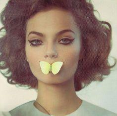 butterfly away fashion, vogu italia, eye makeup, butterflies, cat eyes, vogue italia, beauti, vogueitalia, hair