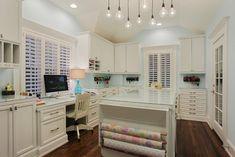 Memorial Hamptons Style - traditional - home office - houston - Brickmoon Design
