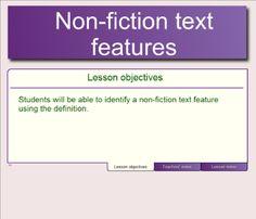 nonfiction-text-features