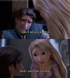 Tangled <3 you guys have no idea how much I cried the first time I watched this :O