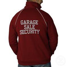 Garage Sale Security Jacket