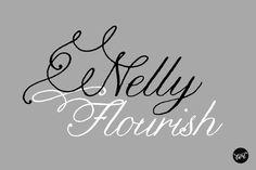 Nelly Script Flourish