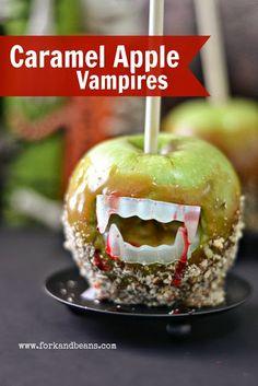 Caramel Apple Vampires