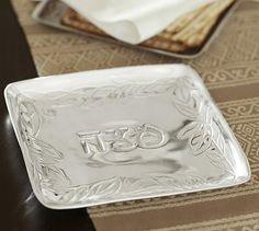 Matzo Plate from Pottery Barn