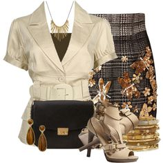 Safari Jacket, created by colierollers on Polyvore