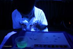 Homemade Glow In The Dark Paint!  Can't wait to try this!