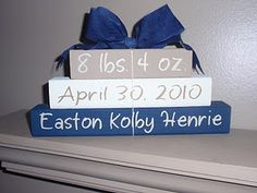 how fun for a baby room or nursery (also a great gift idea for friends having babies)