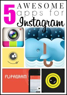 5 awesome and easy Instagram apps that click your posts up a notch. Check out which ones are my favorites!