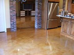 Concrete Floor - Stained