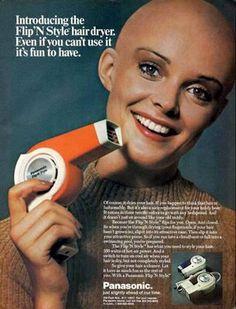 Vintage hairdryer