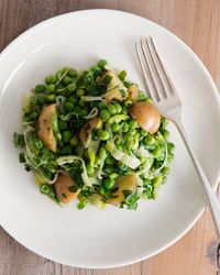 Spring Peas with New Potatoes, Herbs and Watercress Recipe