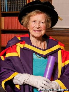 The mathematician, politician and music enthusiast Dame Kathleen Ollerenshaw has died at the age of 101. Profoundly deaf from the age of 8, she had hearing dogs. She was one of the driving forces behind the creation of the Royal Northern College of Music in 1973. Her work to encourage children into mathematics saw her appointed a dame in 1971. She was also a keen astronomer and built her own observatory in the Lake District at the age of 78. She was also a member of The Order of St John