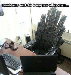 It's like GOT but instead of swords it's keyboards!!!!