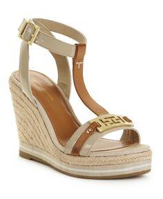 summer wedges. love the gold detail! #summer #wedges daili fashion, shoe festish, shoe obsess, favourit fashion, shoe fit, espadrilles, espadrill wedg, shoe box, summer wedg
