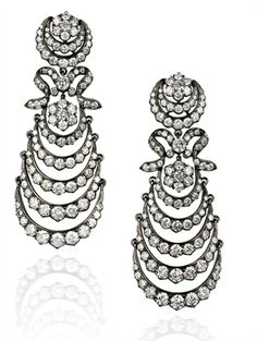 Anna Hu diamond earrings