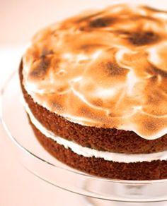 Sweet Potato Cake with Toasted Marshmallow