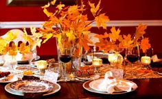 A Thanksgiving Celebration Tablescape #MyKindofHoliday