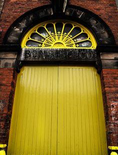 Yellow Door 1