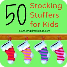 Stocking Stuffers for Kids Image