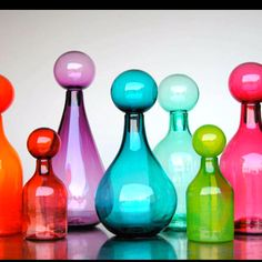 Love collecting glass jars !