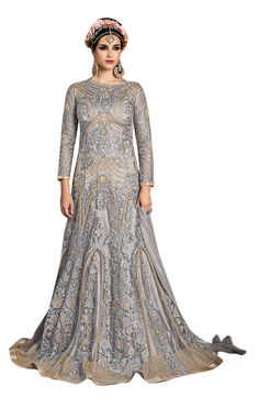 Latest gown style An