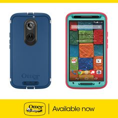 Defender Series for Motorola Moto X 2nd Generation is available now! $49.95
